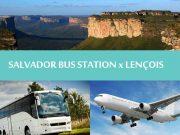 Chapada diamantina - Regular transfers Salvador bus station to Lençois - Transporte Salvador para Lençóis