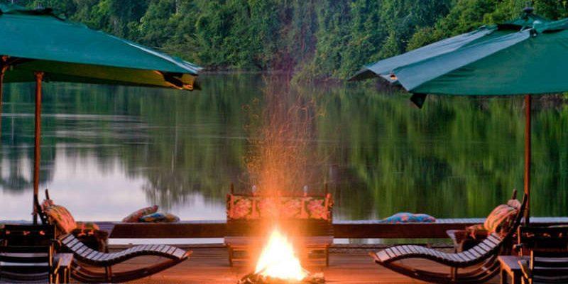 Cristalino lodge - Deck - Hotel em Atins