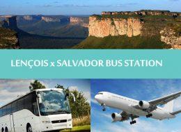 Chapada diamantina - Regular transfers Lençois to Salvador bus station - Transporte Lençóis