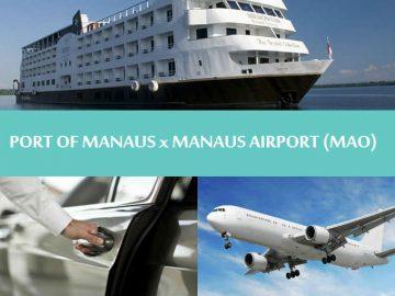 North Brazil - Manaus - Private transfer Port of Manaus to Airport - Traslado Porto de Manaus