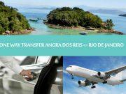 One way transfer Angra dos reis to Rio de Janeiro - Angra dos Reis para Rio de Janeiro