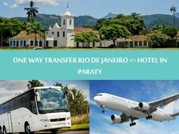 One way transfer Rio de Janeiro to hotel in Paraty - Rio de Janeiro para Paraty