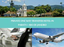 Private One way transfer hotel in Paraty to Rio de Janeiro - Traslado Privativo Paraty