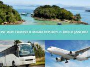 Regular - One way transfer Angra dos reis to Rio de Janeiro - Traslado Angra dos Reis