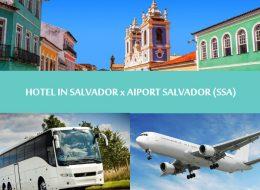 Regular transfer - Hotel in Salvador to Salvador airport - Traslado Hotel