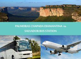 Regular transfers - Palmeiras Chapada diamantina to Salvador - Transporte Palmeiras