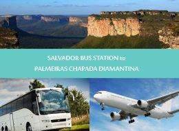 Regular transfers - Salvador to Palmeiras Chapada diamantina - Transporte Salvador para Palmeiras