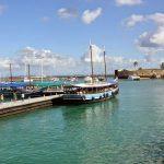 Salvador - Schooner boat tour - boarding - Passeio de escuna