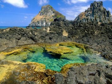 Fernando de Noronha - Abreus trail - natural pools - Trilha Abreus