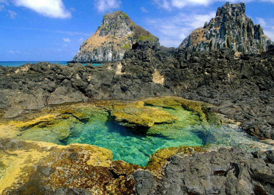 Fernando de Noronha - Abreus trail - natural pools - Trilha Abreus