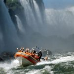 Iguassu falls - Brazilian side - Macuco safari boat - Entrada Macuco