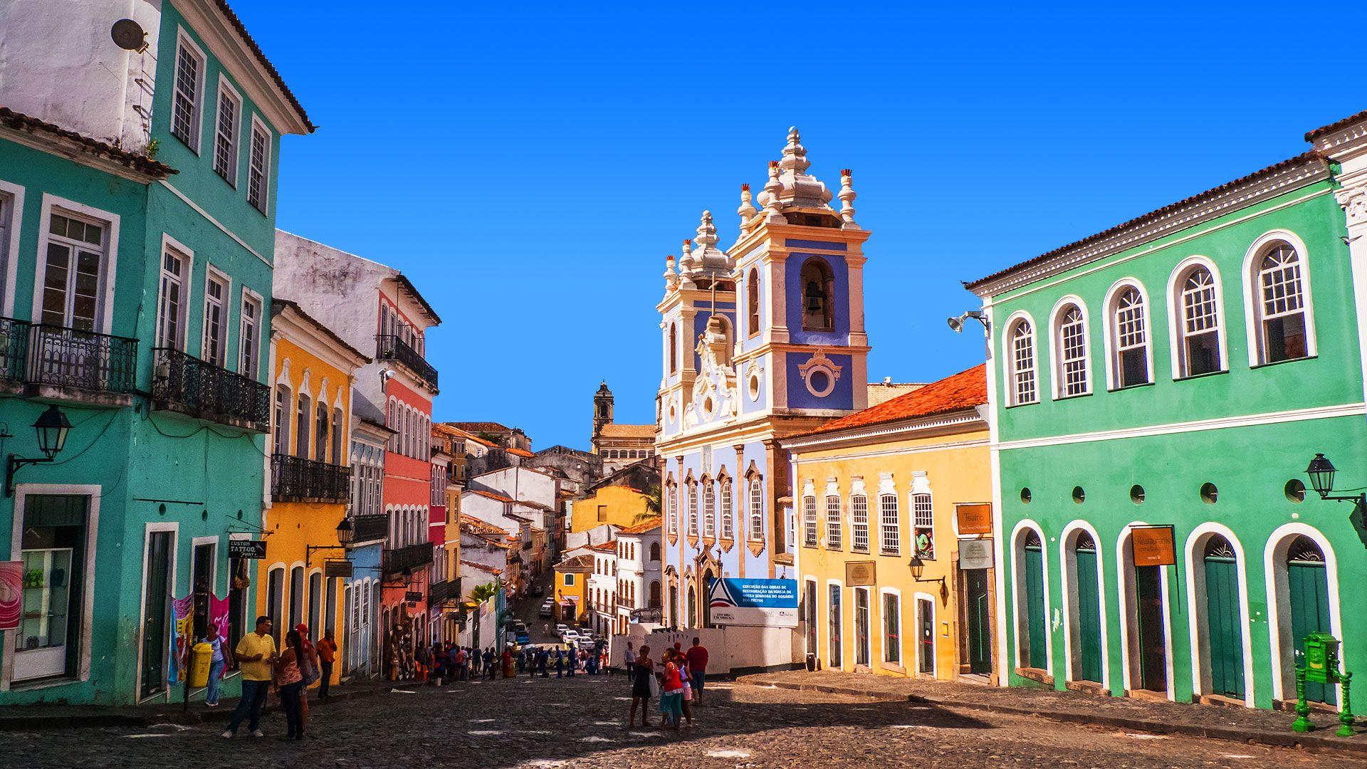 Salvador Da Bahia First Capital Of Brazil