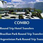 Round Trip Hotel Transfer Brazilian park transfers Argentinian park transfers - Traslados Parque Brasileiro