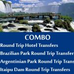 Round Trip Hotel Transfer Brazilian park transfers Argentinian park transfers Itaipu dam - Parque Argentino
