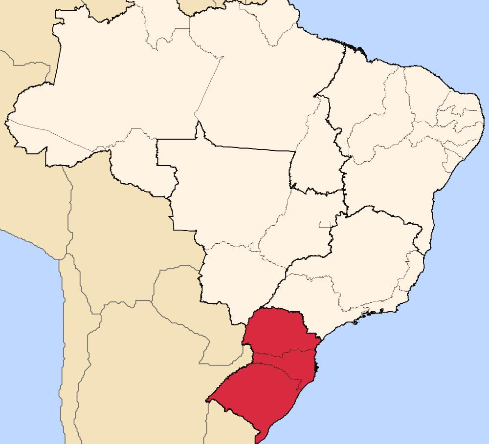 South brazil - Destinos da Região Sul do Brasil