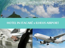 TRANSFER HOTEL IN ITACARÉ to ILHEUS AIRPORT - One way - Traslado Itacaré