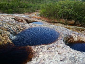 Northeast Brazil - Chapada diamantina - rio serrano